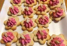 Biscotti senza glutine di pasta frolla salata con ricotta