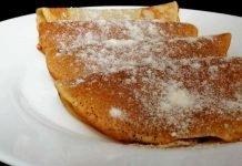 Crêpes senza glutine a ridotto indice glicemico