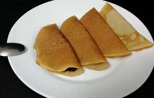 Preparazione Crêpes senza glutine a ridotto indice glicemico