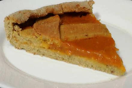 Preparazione Crostata alla confettura di albicocche senza glutine a ridotto indice glicemico