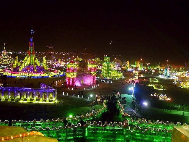 Ice Festival o festival del ghiaccio di Harbin