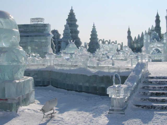 Al Festival del ghiaccio di Harbin 4