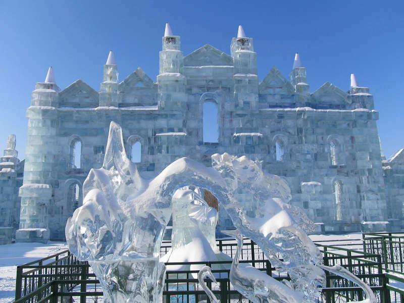 Il festival del ghiaccio di Harbin