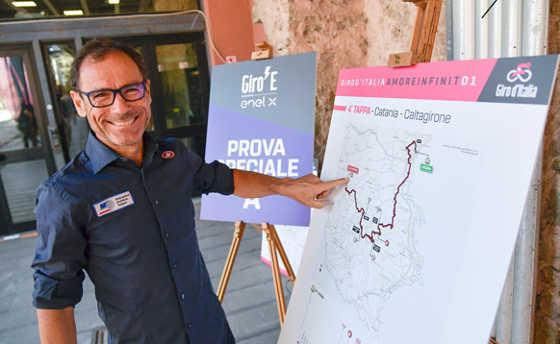 RAI Davide Cassani Il Giro d'Italia