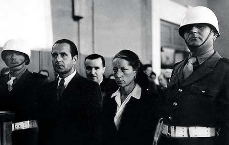 La contessa Marga D'Andurain al processo
