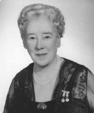 La fondatrice dell'Embassy, Margarita Kearney Taylor