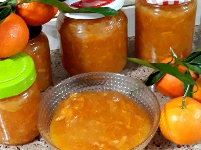 Marmellata di mandarini ricetta con la buccia fatta in casa