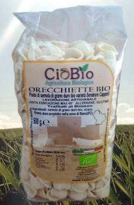 ingredienti Orecchiette con cime di rapa, salsiccia e peperoni cruschi