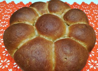 Pan brioche integrale senza burro
