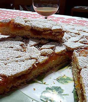 Ingredienti Ricetta Crostata alla marmellata di mandarini
