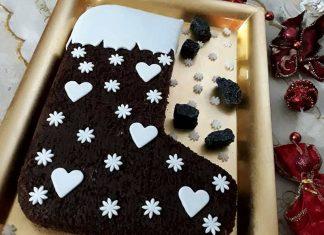 Ricetta torta Calza della befana al cioccolato e cocco
