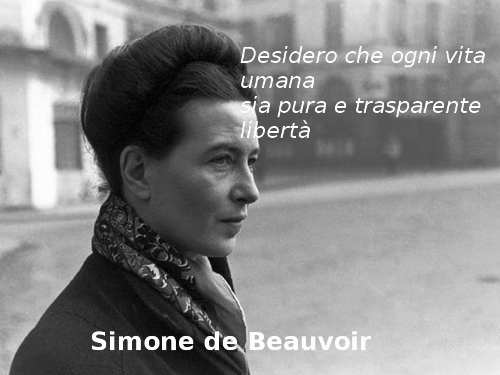 Frase di Simone de Beauvoir