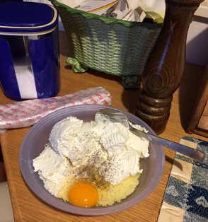 Ingredienti Torta salata senza glutine con ricotta, prosciutto cotto e silano