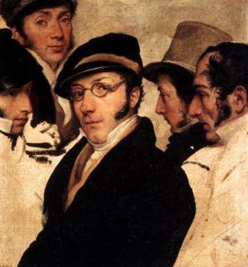 Autoritratto di Francesco Hayez