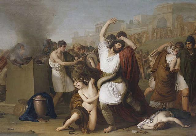 Francesco Hayez. Laocoonte, 1812
