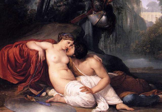 Francesco Hayez Rinaldo e Armida