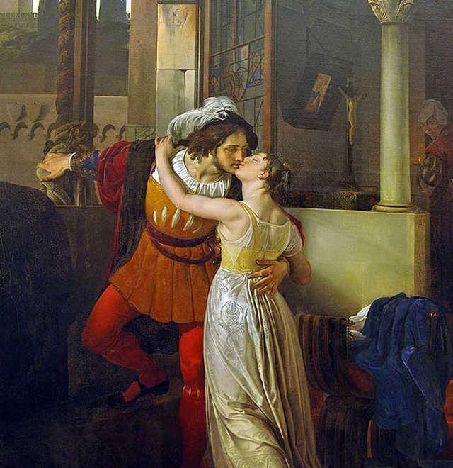 Francesco Hayez Ultimo bacio di Romeo e Giulietta