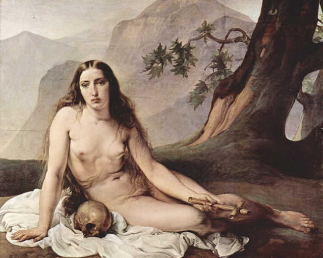Francesco Hayez La Maddalena Penitente