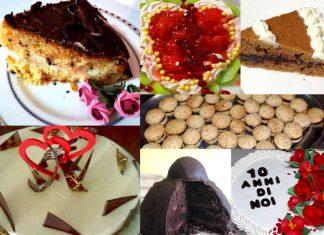 14 ricette dolci a per una Torta di San Valentino
