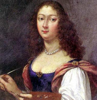 Un Autoritratto di Elisabetta Sirani