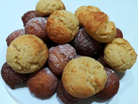 Ingredienti delle Castagnole con ricotta ricetta fritte e al forno