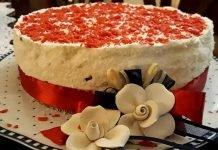 Cheesecake al cioccolato cocco e torrone