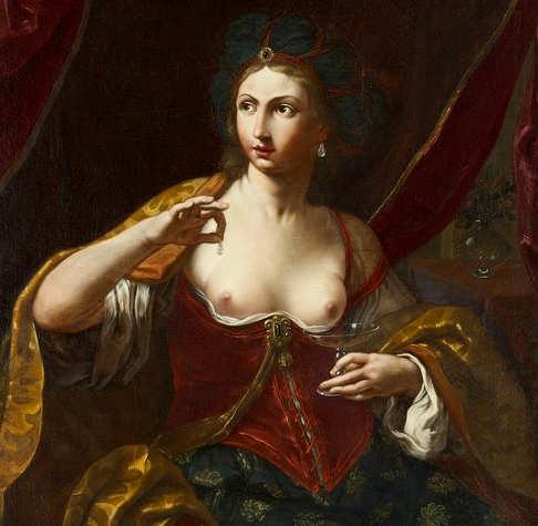 Opera di Elisabetta Sirani, Cleopatra