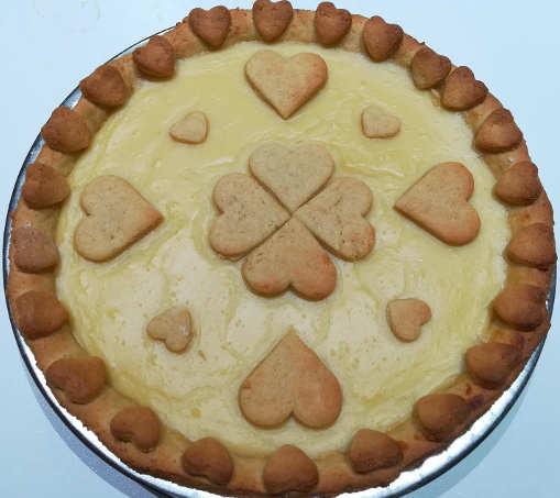 Preparazione Crostata integrale con crema all'arancia senza burro