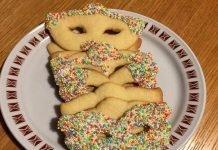 Dolci di Carnevale al forno senza glutine maschere di frolla