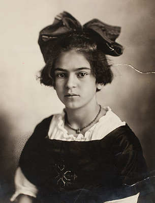Foto Frida Kahlo, bambina