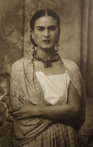 Foto di Frida Kahlo 1932