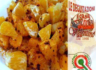 Insalata di arance e Peperoni Cruschetti Fritti, i prodotti tipici di Le Degustazioni di Casa Valentino