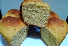 Pan brioche alla ricotta senza burro integrale