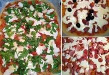 Pizza a lunga lievitazione integrale