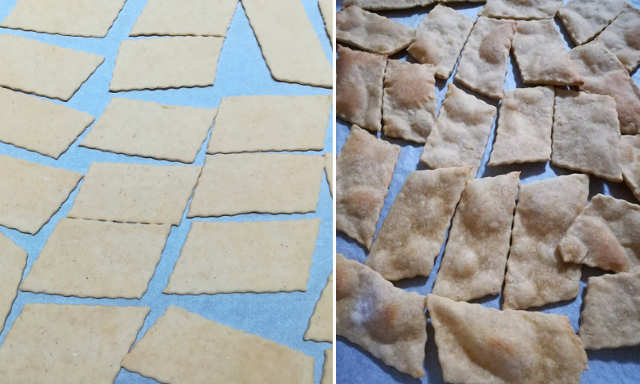 Preparazione Ricetta Pane azzimo fatto in casa integrale