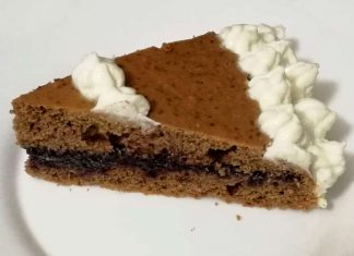 Torta San Valentino senza glutine a ridotto indice glicemi