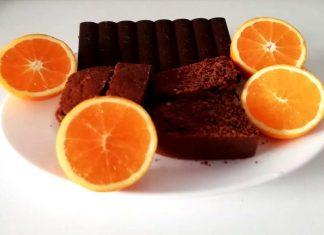 Torta al cioccolato e caffè senza zucchero e integrale