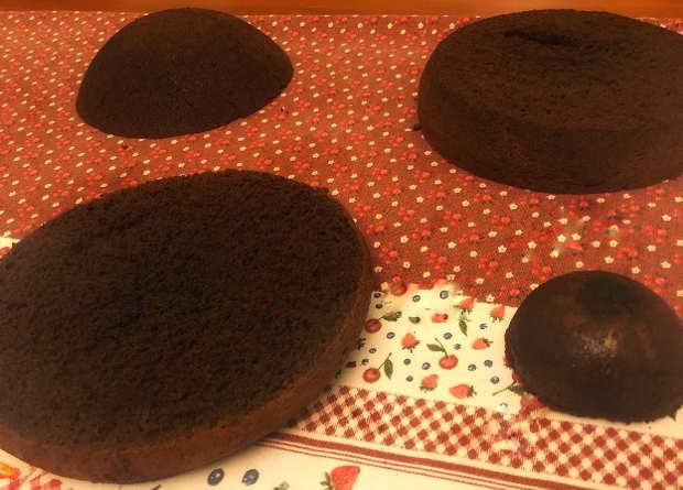 Preparazione Torta bacio Perugina una torta San Valentino 1