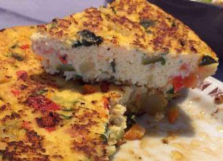 Frittata di verdure senza glutine