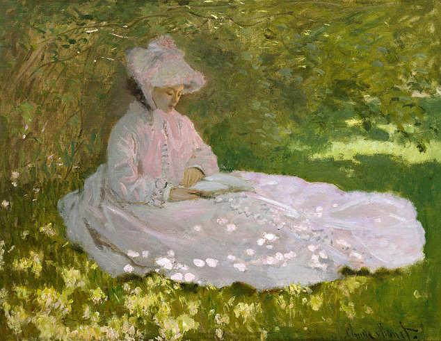 Quadri dedicati alla Primavera, Claude Monet