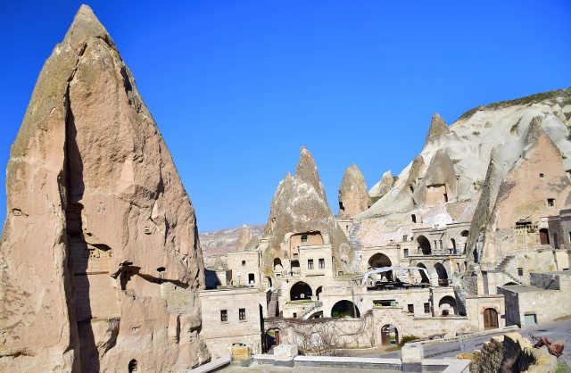 Le Costruzioni nella rocciain Cappadocia