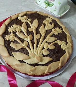 Ingredienti Crostata alla Nutella con fiori di frolla