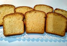 Fette biscottate integrali a basso-medio Indice Glicemico