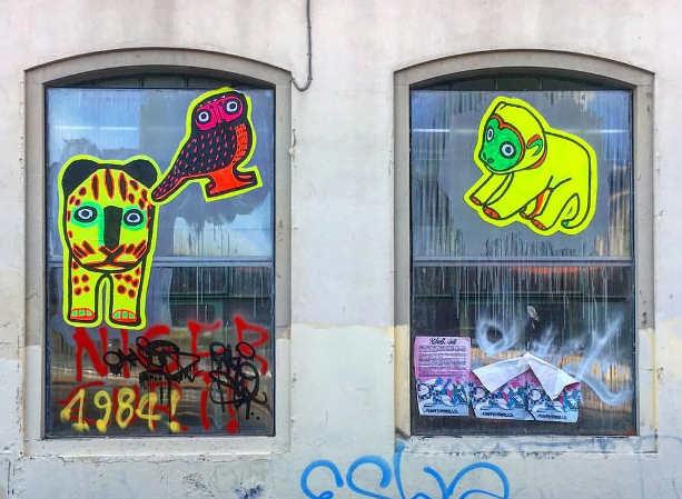 Street art Blub, l'arte sa nuotare 4