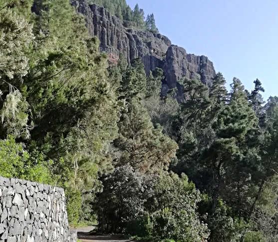 Sentiero presso Area ricreativa La Caldera Tenerife
