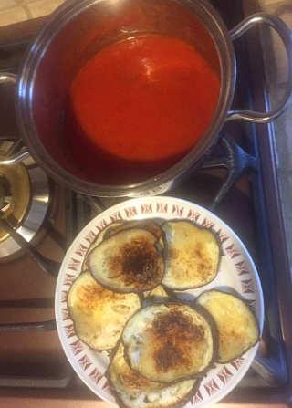 Ingredienti Pasta al Forno alla siciliana con melanzane