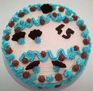 Ingredienti Torta di compleanno con cioccolato fondente e crema al mascarpone