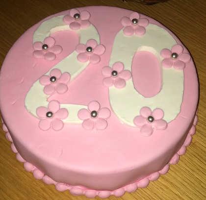 Decorare Torta di compleanno senza glutine