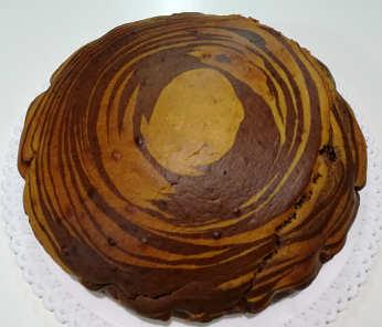 Ingredienti Torta zebrata ricetta senza burro integrale