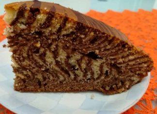 Torta zebrata ricetta senza burro integrale